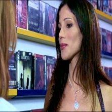 Elisabetta Rocchetti in una scena del thriller TI PIACE HITCHCOCK?