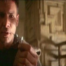 Harrison Ford in una scena del film BLADE RUNNER di Ridley Scott