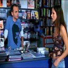 Ivan Morales e Elisabetta Rocchetti in una scena di TI PIACE HITCHCOCK?