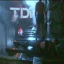 Rutger Hauer e Harrison Ford in una scena di BLADE RUNNER