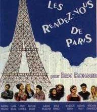 La locandina di Incontri a Parigi
