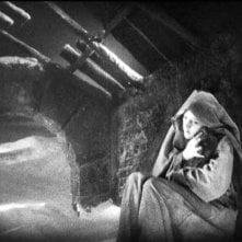 Camilla Horn in una scena di FAUST di F.W. Murnau