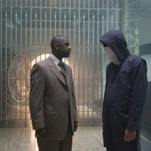 Denzel Washington in una immagine del film Inside Man