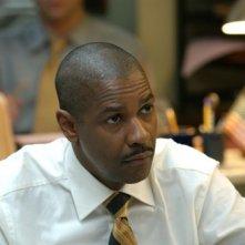 Denzel Washington in una scena del film Inside Man, diretto da Spike Lee