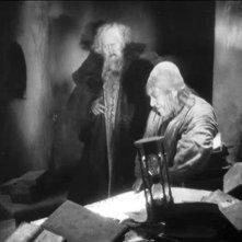Gösta Ekman con Emil Jannings in una scena di FAUST