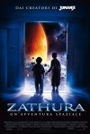 La locandina italiana di Zathura: un'avventura spaziale