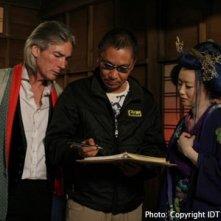 Takashi Miike sul set di Imprint
