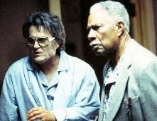 Bruce Campbell  ed Ossie Davis in Bubba Ho-Tep