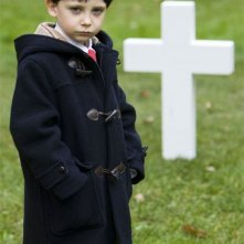 Il piccolo Seamus Davey-Fitzpatrick è Damien Thorn in The Omen 666