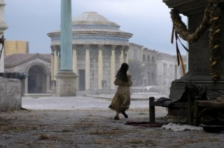Un'immagine suggestiva dalla serie tv Roma