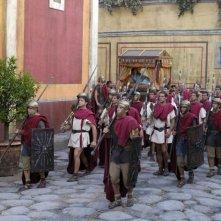 Una scena di massa in Roma
