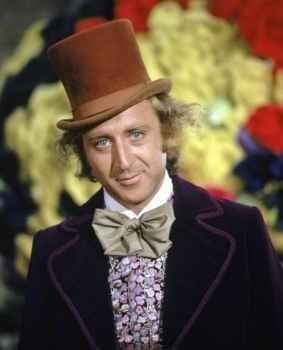Gene Wilder in una scena di Willy Wonka e la fabbrica di cioccolato