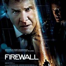 La locandina italiana di Firewall Accesso negato