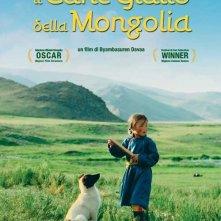 la locandina italiana di Il cane giallo della mongolia