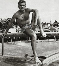 Tab Hunter in costume