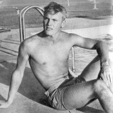 Tab Hunter in piscina
