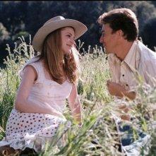 Evan Rachel Wood e Edward Norton in una scena di Down in the Valley (2005)