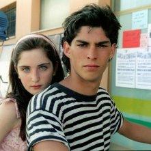 Gabriella Belisario con Jacopo Petrini ne L'estate del mio primo bacio