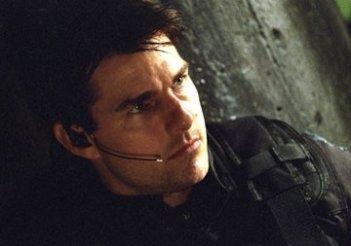 Un bel primo piano di Tom Cruise in Mission: Impossible III
