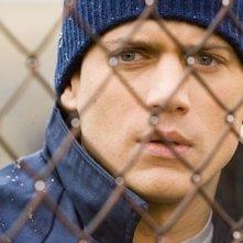 Wentworth Miller nel rulo di Michael Scofield, protagonista della serie Prison Break
