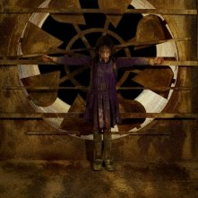 Jodelle Ferland in una sequenza dell'horror Silent Hill