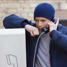 Wentworth Miller in una scena di Prison Break