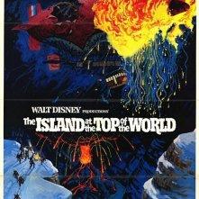 La locandina di L'isola sul tetto del mondo