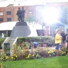 Sul set di Ghost Whisperer