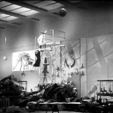 Cary Grant e Katharine Hepburn in una scena di SUSANNA