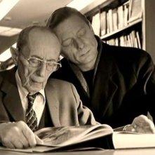 Curt Bois e Otto Sander in una scena di IL CIELO SOPRA BERLINO di Wim Wenders