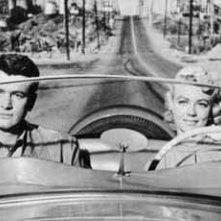 Rock Hudson e Dorothy Malone in Come le foglie al vento