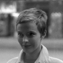 Jean Seberg in Fino all'ultimo respiro