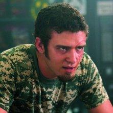 Justin Timberlake in una scena del film Southland Tales