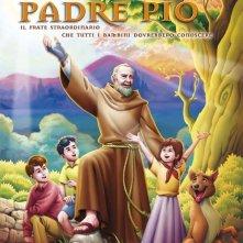 La locandina di Padre Pio