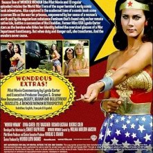 Retro di copertina di Wonder Woman