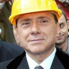 Silvio Berlusconi, in versione 'presidente operaio'