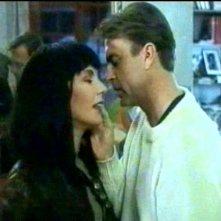 Solveig Dommartin e Sam Neill in una scena del film Fino alla fine del mondo (1991)
