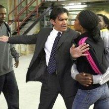 Rob Brown, Antonio Banderas e Yaya DaCosta in una scena del film Ti va di ballare? - Take the Lead