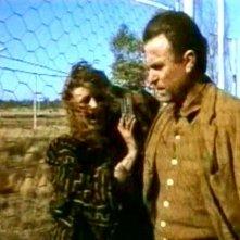 Solveig Dommartin e William Hurt in una scena di FINO ALLA FINE DEL MONDO