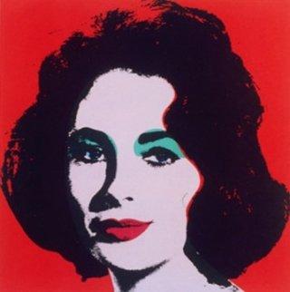 Liz Taylor ritratta da Andy Warhol
