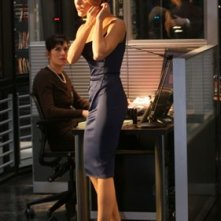 Keri Russell in una sequenza di Mission: Impossible III