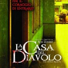 La locandina italiana di La casa del diavolo