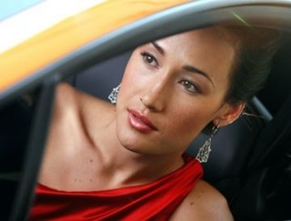 Maggie Q in Mission: Impossible III