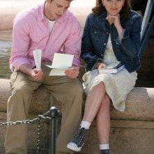 Scarlett Johansson  e Chris Evans sul set di The Nanny Diaries