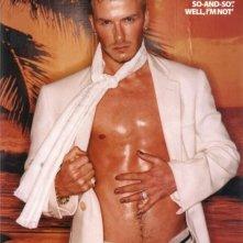 Una foto sexy di David Beckam