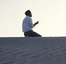 Una scena di Viaggio alla Mecca