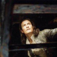 Orlando Bloom è tra i protagonisti di Pirati dei Caraibi - la maledizione del forziere fantasma