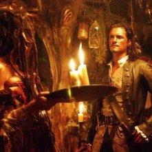 Orlando Bloom ne Pirati dei Caraibi - la maledizione del forziere fantasma