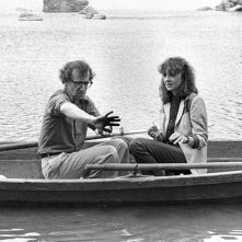 Diane Keaton e Woody Allen in Manhattan