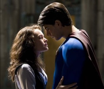 Kate Bosworth e Brandon Routh in Superman Returns